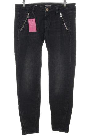 Miss Sixty Skinny Jeans dunkelgrau Casual-Look