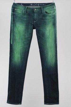 Miss Sixty Skinny Jeans grün Größe W 30 1711060210747