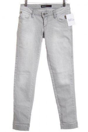 Miss Sixty Skinny Jeans hellgrau Casual-Look
