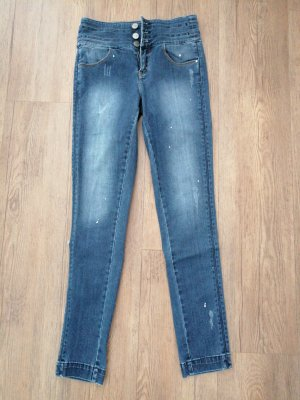 Miss Sixty Hoge taille jeans blauw