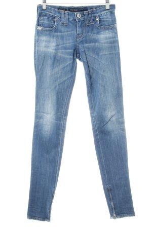 Miss Sixty Skinny Jeans stahlblau Casual-Look
