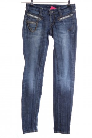 Miss Sixty Slim Jeans blau Casual-Look