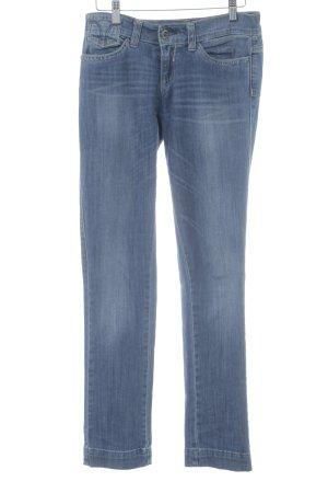 Miss Sixty Slim Jeans dunkelblau-blassblau Casual-Look