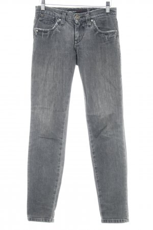 Miss Sixty Slim Jeans grau Casual-Look