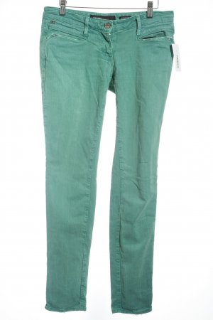 Miss Sixty Slim Jeans grün Casual-Look