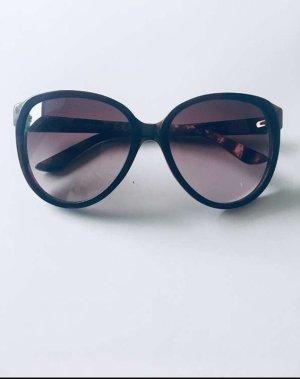 Miss Sixty Oval Sunglasses black brown-dark brown