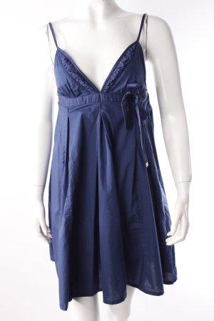Miss Sixty Spaghettiträger-Kleid dunkelblau