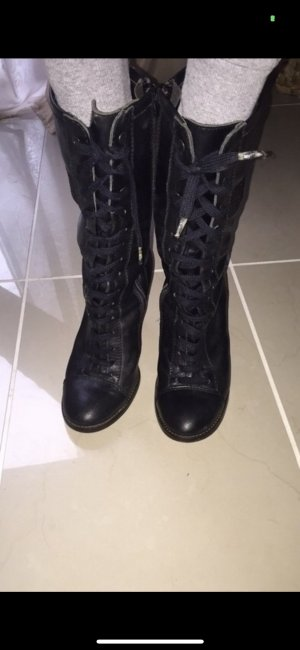 Miss Sixty - Stiefel - Schnürstiefel - Größe 36 - Leder