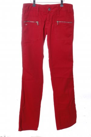 Miss Sixty Straight-Leg Jeans rot Casual-Look