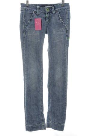 "Miss Sixty Straight-Leg Jeans ""Akabis"" blau"
