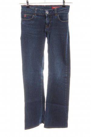 Miss Sixty Straight-Leg Jeans blau Casual-Look