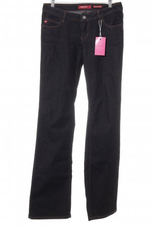 Miss Sixty Straight-Leg Jeans schwarz Casual-Look