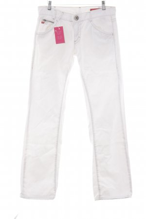 Miss Sixty Straight-Leg Jeans wollweiß Casual-Look