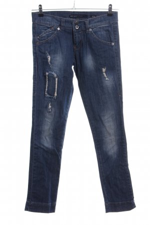 Miss Sixty Stretch jeans blauw straat-mode uitstraling