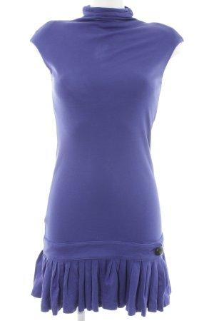 Miss Sixty Stretchkleid kornblumenblau Street-Fashion-Look