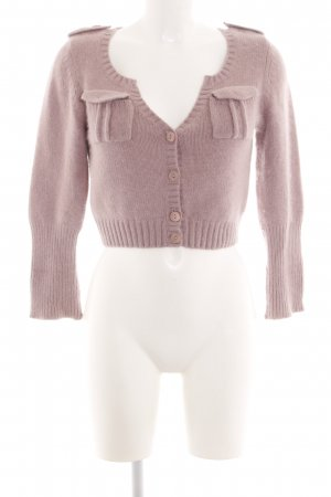 Miss Sixty Knitted Bolero pink casual look