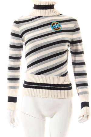 Miss Sixty Strickpullover Streifenmuster Casual-Look