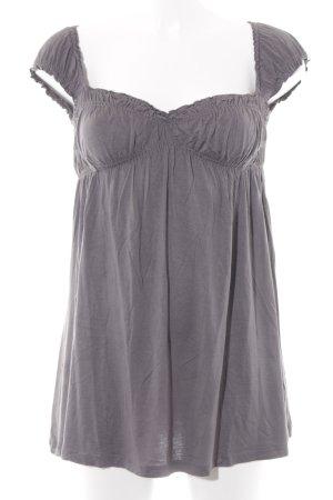 Miss Sixty T-Shirt grau Romantik-Look