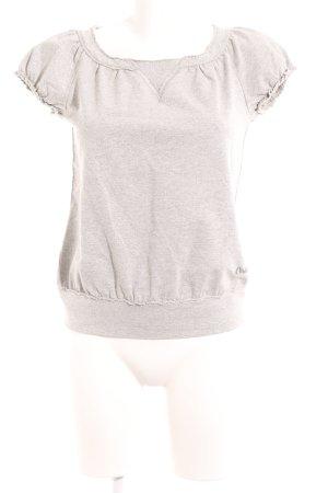 Miss Sixty T-Shirt grau-silberfarben meliert Glitzer-Optik