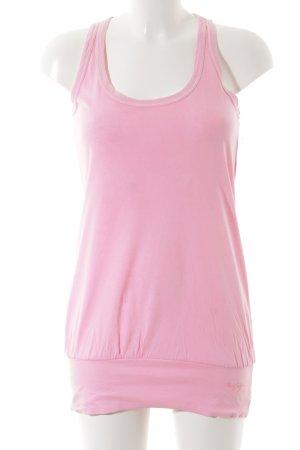 Miss Sixty Tanktop pink Logo-Applikation