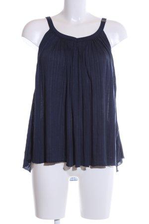 Miss Sixty Trägertop blau Casual-Look