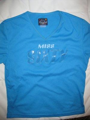 Miss Sixty Transparent Logo Vinyl türkis