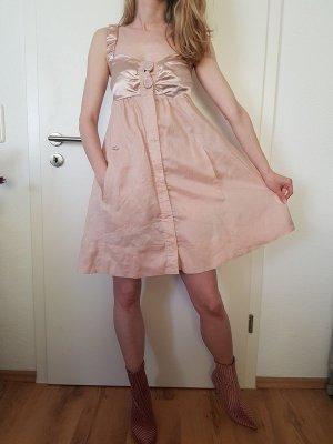 Miss Sixty Traumhaftes Rosé- Sommerkleid Gr.S