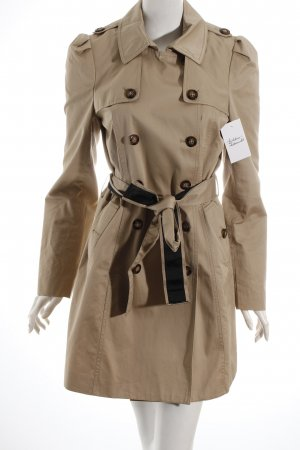 Miss Sixty Trenchcoat beige Street-Fashion-Look