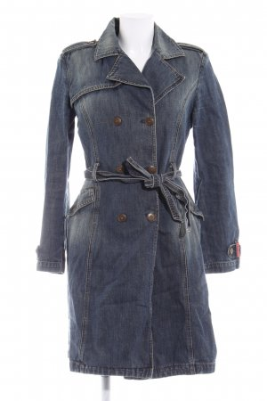 Miss Sixty Trenchcoat graublau Casual-Look