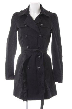 Miss Sixty Trenchcoat schwarz Casual-Look