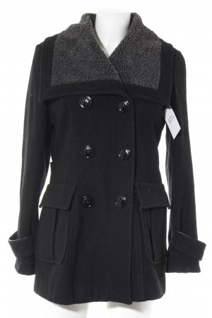 Miss Sixty Between-Seasons-Coat black casual look