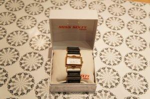 Miss Sixty Uhr schwarz gold