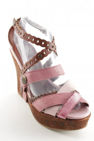 Miss Sixty Wedge Sandals multicolored beach look