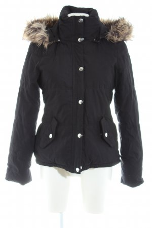 Miss Sixty Winterjacke schwarz Steppmuster Casual-Look
