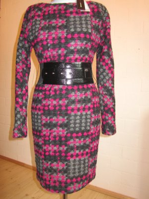 MISS SIXTY: Winterkleid mit Gürtel, Gr. XS/36 NEU