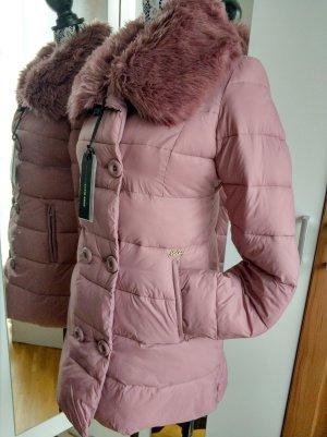 Miss Sixty Gewatteerde jas stoffig roze