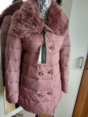 Miss Sixty Wintermantel Stepp-mantel Jacke mit Kunstfellkragen !NEU!