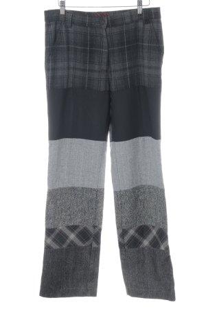 Miss Sixty Wollen broek glencheck patroon retro uitstraling