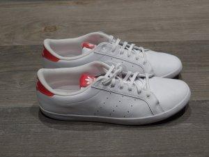 Miss Stan Smith von Adidas weiß/rot, Gr. 43 1/3 (= Gr. 42) ungetragen!
