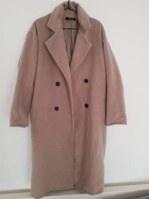 Missgiuded Langer Camel Coat 38/M sand/grau/beige oversize zara &otherstories cos weekday
