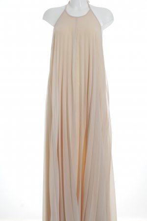 Missguided Ballkleid beige-nude Romantik-Look