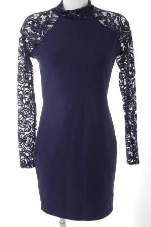 Missguided Bleistiftkleid dunkelviolett-blau Elegant