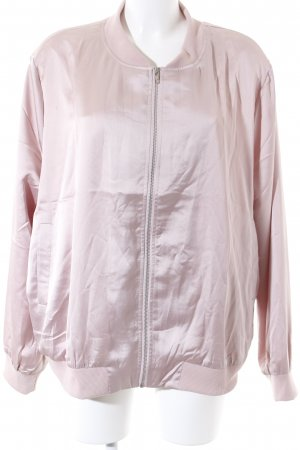 Missguided Blouson rosa Glanz-Optik