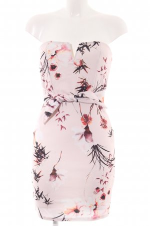 Missguided Bustier Dress flower pattern business style