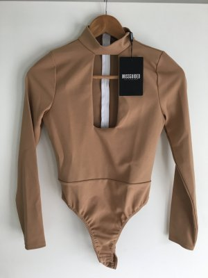 Missguided camel bodysuit NEU