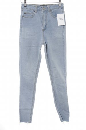 Missguided High Waist Jeans himmelblau Casual-Look