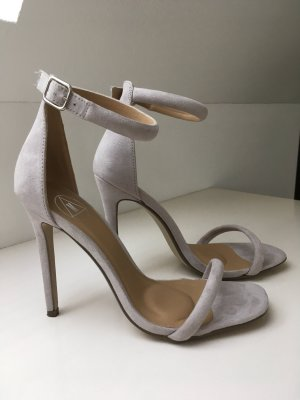 Missguided Highheel Sandalette Gr.37 nude