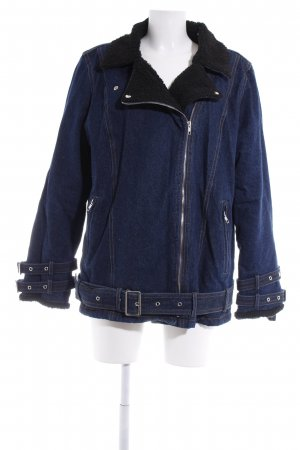 Missguided Jeansjacke blau Casual-Look