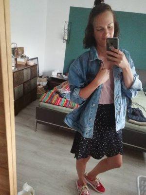 Missguided Jeansjacke Jacke Jeans Denim Oversized Customized Statement