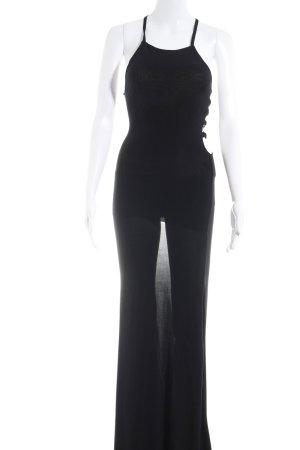 Missguided Jerseykleid schwarz Elegant